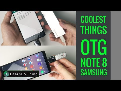 OTG Samsung Note 8 - Coolest things to do with an OTG connector
