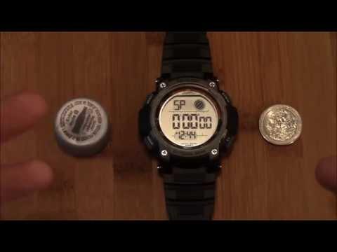Armitron 40/8252 Men's Fashion All Sport Watch Review