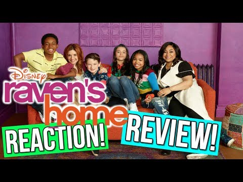 RAVEN'S HOME REACTION/REVIEW!!! RAVEN'S HOME TV SHOW REVIEW! NEW DISNEY CHANNEL SHOW REVIEW!