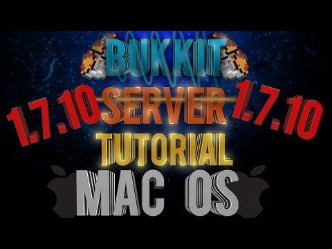 How to Setup a Bukkit Server 1.7.10 MAC Edition!