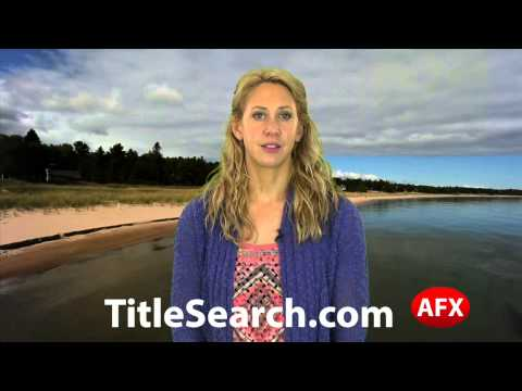 Property title records in Midland County Michigan   AFX