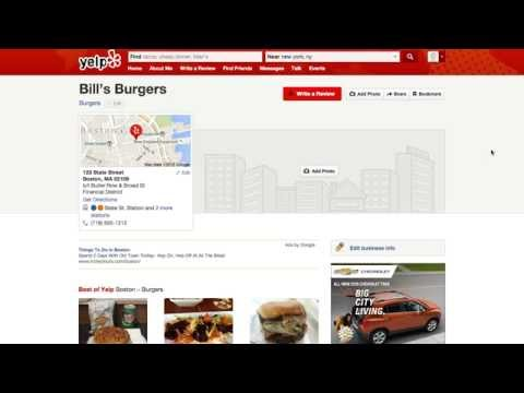 How to Add your Business to Yelp