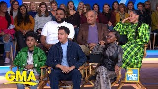 'GMA' Hot List: Stars of 'Black-ish' answer trivia questions about each other | GMA