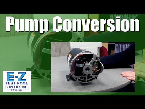 How to Convert an Inground Pool Pump Motor from 230v to 115v