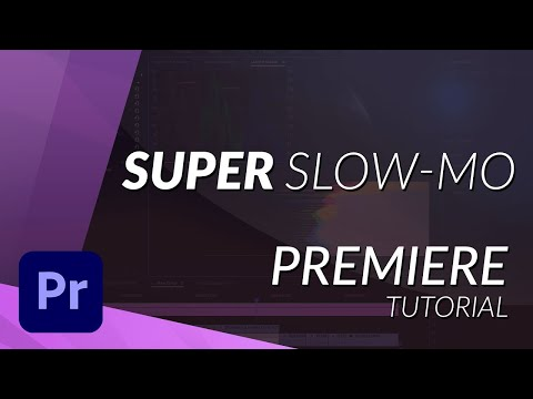 Super Slow Motion - Premiere Pro TUTORIAL (Optical Flow)