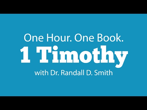 One Hour. One Book: 1 Timothy
