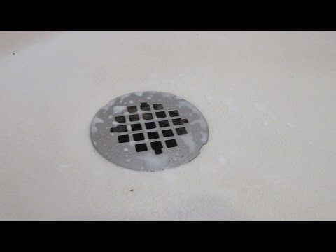 how to clean the shower with vinegar and baking soda