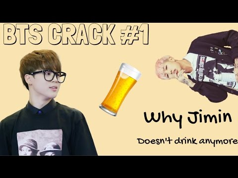 Why Jimin Stopped Drinking | BTS Crack #1