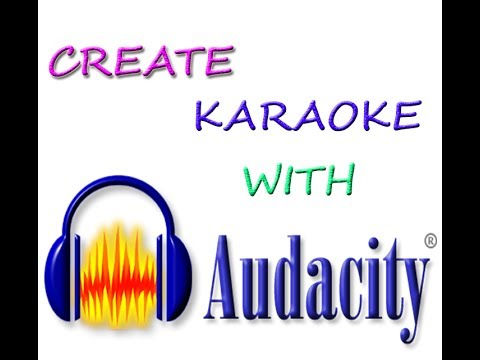 CREATE KARAOKE IN AUDCITY-REMOVE VOCALS FROM SONG