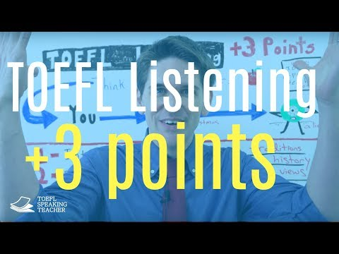 Improve Your TOEFL Listening by 3 Points - Think Like a Teacher