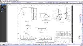 Initial Setting for drafting I Sheet Background I Title