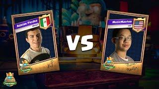 CCGS World Finals Quarter Finals - Adrian Piedra vs MusicMaster