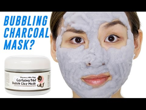 Carbonated Bubble Clay Mask Review - TINA TRIES IT