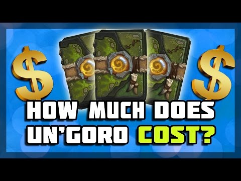 Hearthstone - How Much Does Un'Goro Cost?
