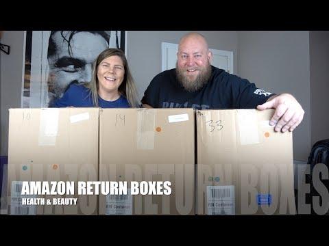 Shocking Item In This $1,553 Amazon Customer Returns HEALTH & BEAUTY Pallet