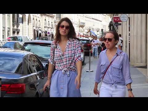 Forty plus Spring/Summer street style. Stylish Parisians showcasing their layering skills.