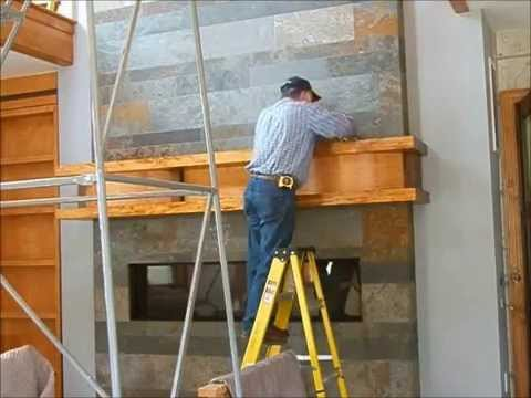 Making a Fireplace Mantle, condensed version: Andrew Pitts~FurnitureMaker