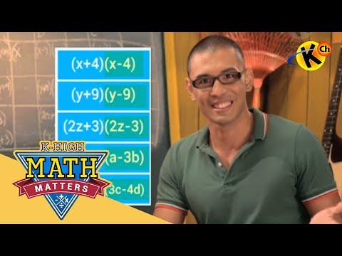 K-High Math Matters | Special Products | Grade 8 Math