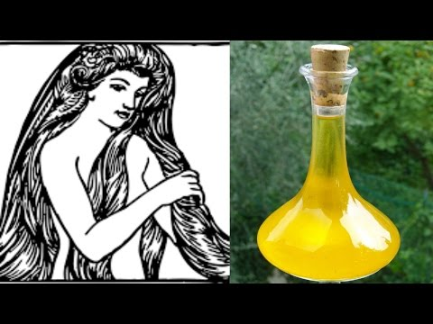 DIY Hair Growth Oil using Ancient Ingredients
