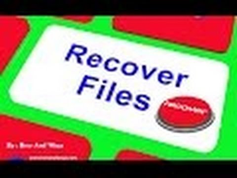 how to recover deleted files from hard drive/how to recover deleted images from hard drive