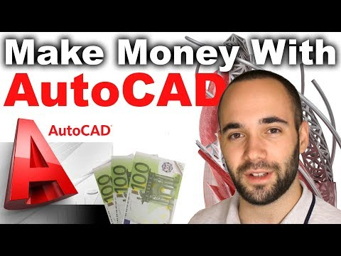 5 Ways to Make Money With AutoCAD (Business of AutoCAD)