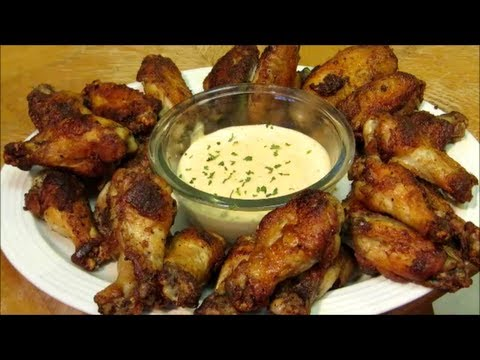 Cajun Chicken Wings - How to make Cajun Wings with Remoulade Sauce
