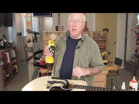 BridgeSaver guitar bridge repair tool
