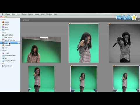 Learn iPhoto 11 - How to Flag Your Images