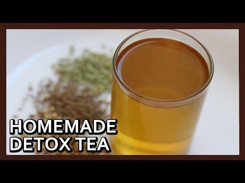 Homemade Detox Tea for Weight Loss | DIY Detox Tea | Easy Weight Loss Recipe by Healthy Kadai