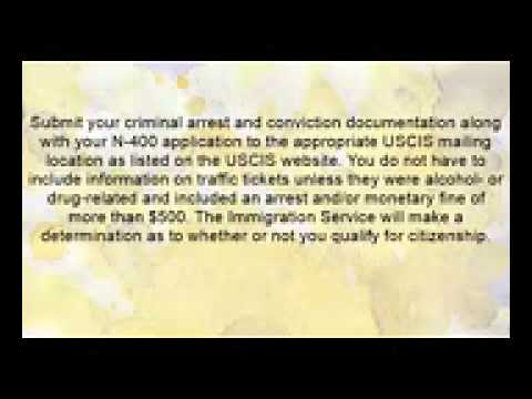 How to   Gain American Citizenship While Having A Criminal Record