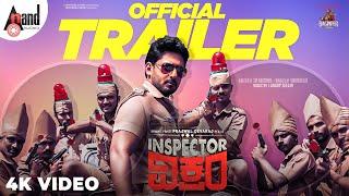Inspector Vikram   4K Trailer   Prajwal Devaraj Bhavana Raghu Mukherjee J.Anoop Seelin Sri Narasimha
