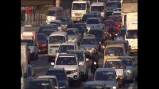 Sao Paulo: A city with 180km traffic jams - Part I (by BBC)