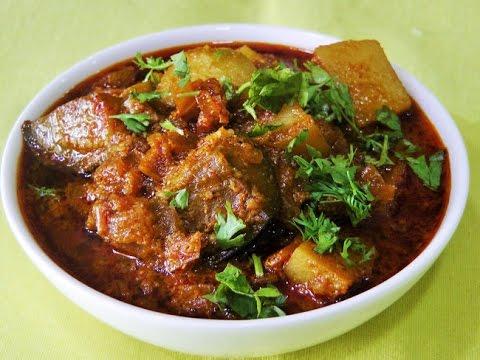 वांग बटाटा रस्सा भाजी  | Vangi Batata Sabzi by madhurasrecipe | Aloo Baingan Masala