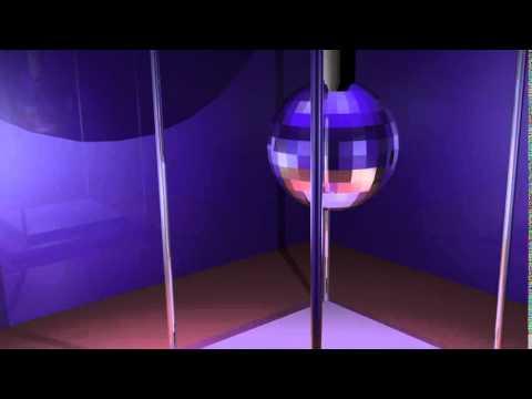 blender disco ball by fin