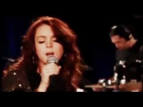 Lindsay Lohan Over (Live @ Launch Yahoo)