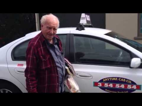 Oldest Taxi Driver in the world