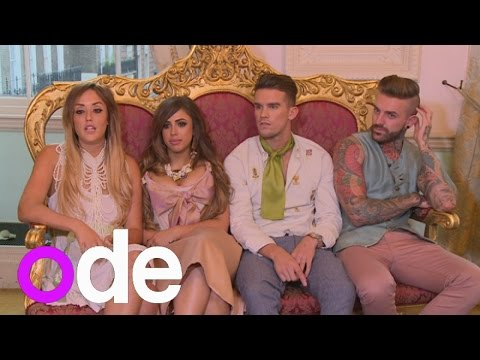 Geordie sure? Watch the Geordie Shore cast dodge reporter over Vicky Pattison leaving