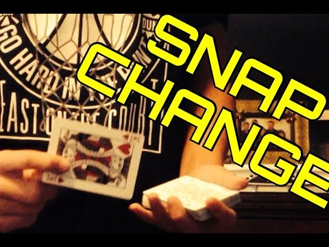 SNAP CHANGE and Original Clean-Up Tutorial!