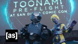 SDCC 2017 Toonami Pre-Flight | Snickers | [sponsored content]