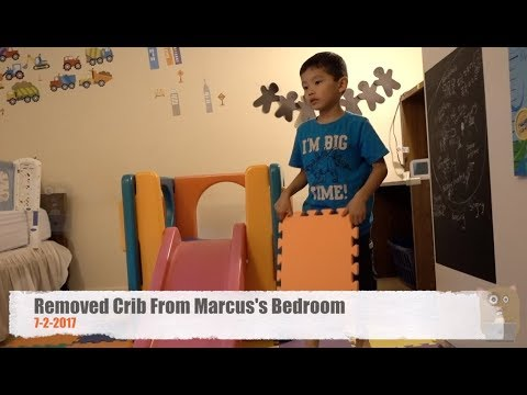 Removed Crib From Marcus's Bedroom