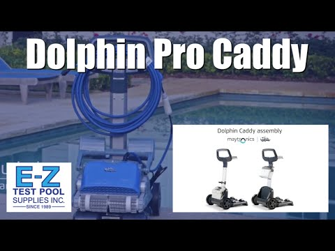 How To Assemble A Maytronics 99966087 ASSY Dolphin Robotic Pro Caddy