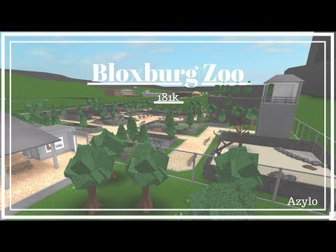Roblox | Bloxburg: Zoo (181k)