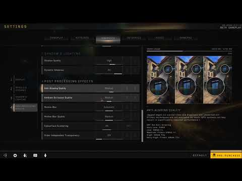 How to Disable Motion Blur in Black Ops 4