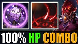 Soul Catcher + Maledict = 100% HP Combo [EZ 2 buttons kill] Dota 2 Ability Draft
