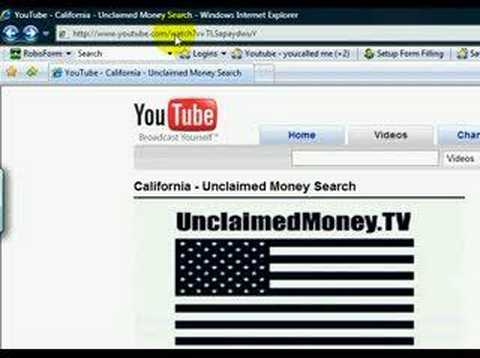 Texas Unclaimed Money Database