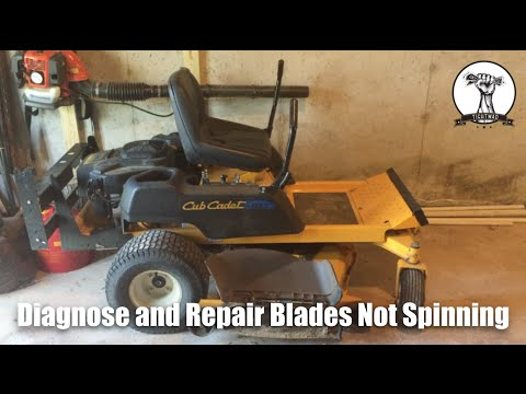 Lawn Mower Blades Will Not Spin - Blade Spindle Assembly Replacement