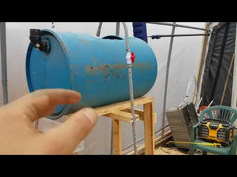DIY Aquaponics Greenhouse