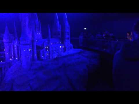 Hogwarts castle scale model