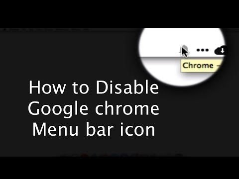 OS X: Disable Chrome notifications menu bar icon