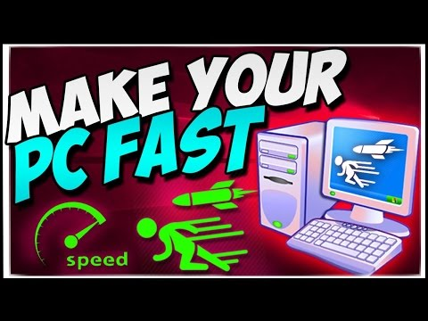 Speed up ANY Computer/Laptop by 100% - Windows 7/8/Vista/XP